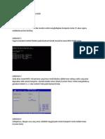Cara Setting System Konfigurasi BIOS Makdis