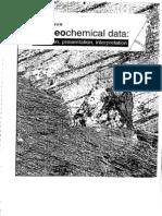 Using Geochemical Data - Rollinson