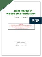 Lamellar Tearing in Welded Steel Fabrication
