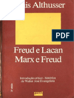 Althusser Freud Lacan Marx Freud