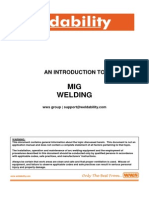 Weldability - Introduction to MIG Welding