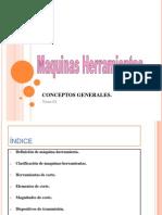 Tema 2 - Maquinas Herramienta Conceptos Generales