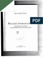 Reinaldo Dias - Relações Internacionais (Cap4)