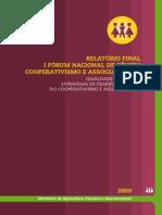 1 Forum Nacional de Genero - Cooperativismo