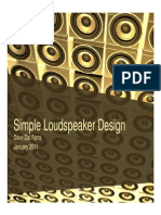 Simple Loudspeaker Design Ver2