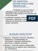 Presentación Guía Didáctica Preescolar