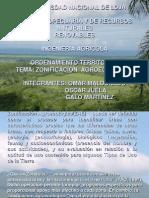 Zonoficacion Ecologica y Economica