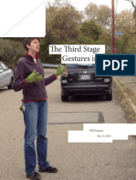 The Third Stage - Gestures in Argument