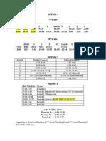 Schedule Option