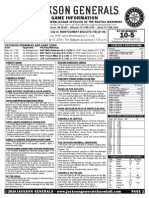 5.15.14 Game Notes vs Montgomery