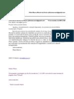 Consulta Renovação Pleito com MESMOS Candidatos