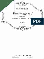 Mozart Fantasy