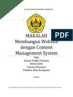 Makalah Membangun Website Dengan Content Management System - Ichsan Yudha Pratama - 081031003 - Sistem Informasi - Reguler Semester 8 - Fakultas Ilmu Komputer