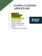Programma Canzoni Napoletane Copia
