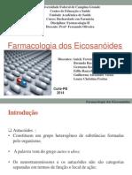 Apresentação farmacologia Eicosanóides