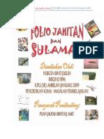 Folio Kh Jahitan & Sulaman
