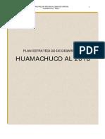 Plan Estratégico de Desarrollo de Huamachuco Al 2018_ PDF