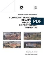 Aspectos Geologicos Proteccion Ambiental