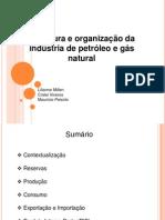 Estrutura e Organização Da Indústria de Petróleo e Gás Natural Apresentação