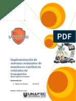 Implementación de Sistemas Avanzados de Monitoreo Satelital en Vehículos de Transportes