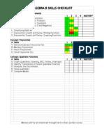 checklist-google docs