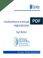 Incertidumbres en El Mercado Eléctrico y Riesgos Asociados Por Hugh Rudnick