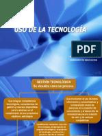 Uso de La Tecnologia[1]