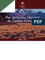 CONAMA - Plan de Acción Nacional de Cambio Climático 2008-2012