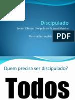 Discipulado e Cosmovisão 2012