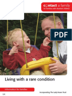 About Diagnosis Living With a Rare Condition Nov 2013 for Web