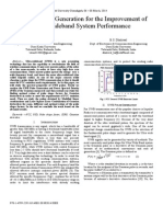 Optimal Pulse Generation for the Improvement of Ultra Wideband System Performance
