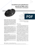 ARTIGO - Jornalismo Para Plataformas Móveis de 2008 a 2011 Da Autonomia à Emancipação (João Canavilhas)