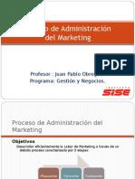 Sesion 2 - El proceso de Administración del Marketing