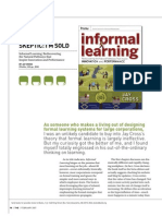 T+D Review of Informal Learning