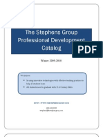 Stephens Group Winter Professional Development Catalog