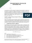 Metodología Para El Cálculo de Capacidad Vial