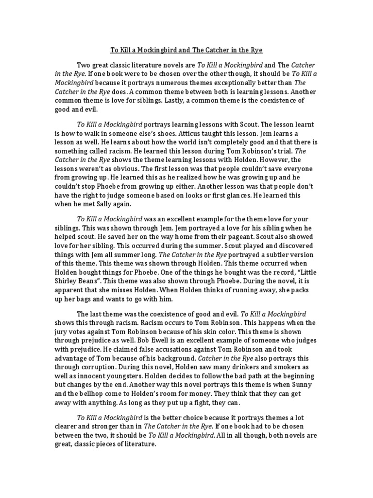 to kill a mockingbird 19 essay To kill a mockingbird summary this essay to kill a mockingbird summary and other 64,000+ term papers, college essay examples and free essays are available now on reviewessayscom autor: review • november 11, 2010 • essay • 471 words (2 pages) • 2,394 views.
