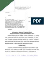 Doc 24 CSHM v Kuhn Response