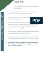 Ocean Beach Master Plan Background Information