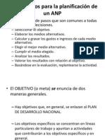 Pasos Básicos Para La Planificación de Un ANP