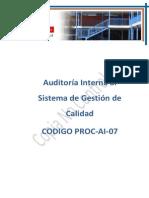 Auditorias Al Sgc 07