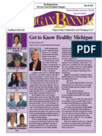 The Michigan Banner May 16, 2014 Edition