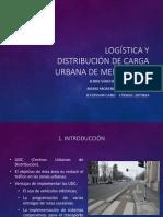 Logística y Distribución de Carga Urbana de Mercancías