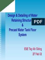 Water Retaining Structures Design