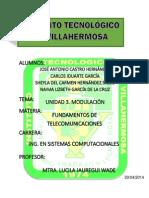 Unidad 3 Fund. Telecom