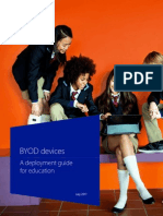 BYOD Devices - Deployment Guide for Education