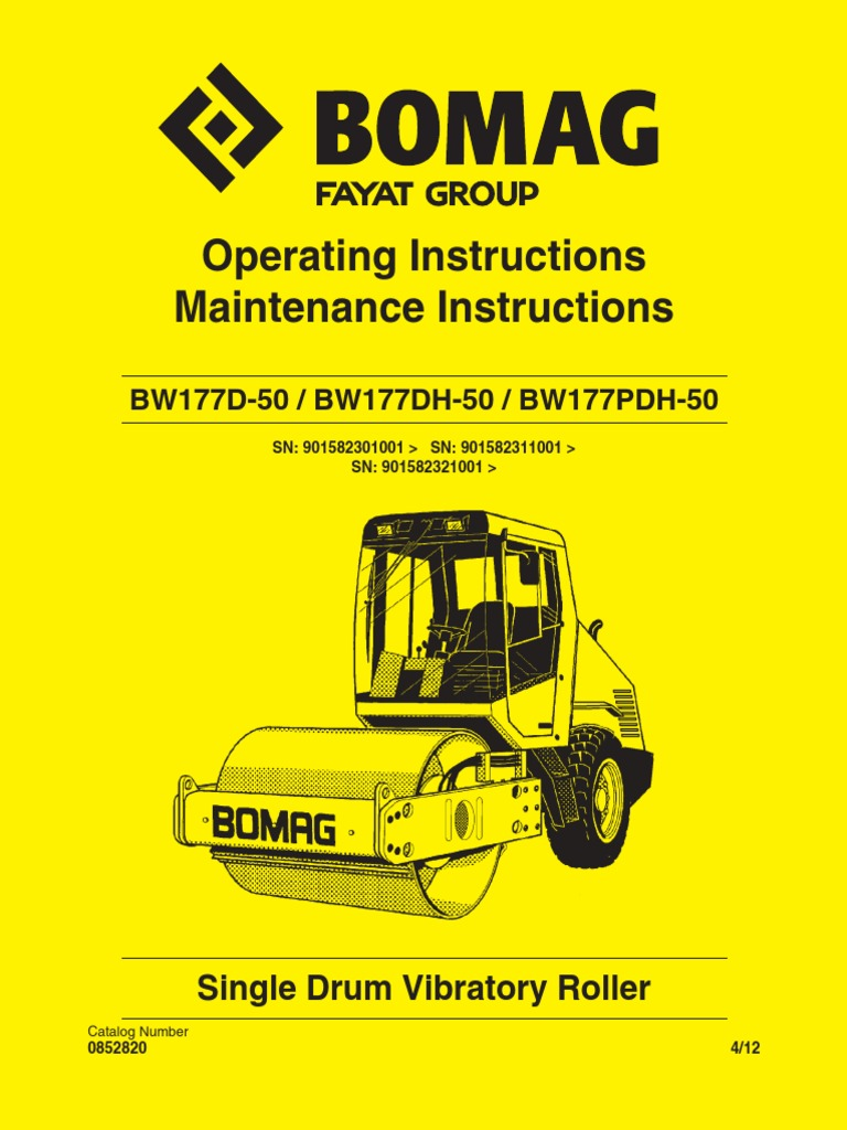 Switch Bomag Americas Inc Normally