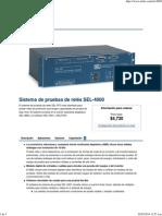 Sistema de Pruebas de Relés SEL-4000