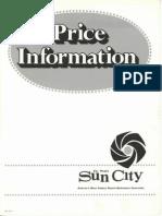 January 31, 1971 Price Information Sun City, Az)
