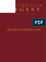 VOL 90 Number 1 2012 Neoplatonism